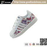 Classic Kids chaussures occasionnel Skate PU Blanc Chaussures 16001N-3
