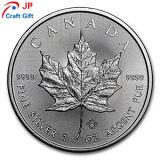 De alta calidad personalizado Canadá prueba redonda Coin