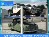 гараж стоянкы автомобилей 4 автомобилей 3700kgs 2 подъем 4 столбов pakring