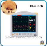 10.4 pouces Vet six paramètres du moniteur patient portable pour les médicaments vétérinaires