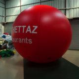 광고를 위한 팽창식 만화 헬륨 풍선