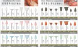 Lucidatori dentali della gomma di silicone di vendita calda per il laboratorio del dentista