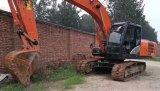 Condição de trabalho hidráulica Hitachi usado da máquina escavadora da esteira rolante Zx200-5g