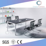Muebles modernos de 10 personas de gran tamaño Mesa Redonda mesa de reuniones (CAS-MT1801)