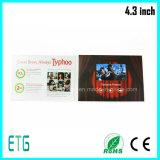 """4.3 """" LCD video bekanntmachende Bildschirmanzeige für heißen Verkauf"""