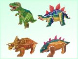 Capretti DIY Dinosaur 3D Puzzle Intellectual Toy (H4551341)