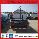 Camion di autocisterna dell'acqua di Sinotruk HOWO 4*2/spruzzatore