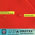 320gsm, sarjado óleo resistente a chamas 3/1 repelente de água de tecidos para vestuário de protecção