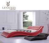 A044 contemporáneo diseños más nueva cama de cuero