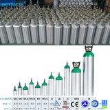 Cilindro de oxígeno de aluminio de los depósitos de gas médicos industriales al por mayor del CO2 O2
