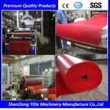 Type creux ligne en plastique de PVC d'Extr de couvre-tapis d'étage de S