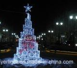 Luz decorativa del rectángulo de regalo del hotel al aire libre LED del Año Nuevo para la decoración del jardín