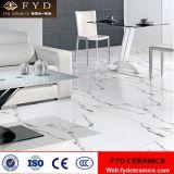 Azulejos de suelo esmaltados mármol blanco de la porcelana de Carrara del surtidor de China