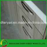 熱い販売の現代木製の穀物のメラミン表面食器棚