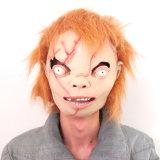 Neue umweltfreundliche Latex-Zombie-Pferden-Kopf-Halloween-Partei-Schablone