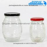 Küche-Produkt-runde Form-eingemachte Waren Galss Flaschen-Gläser
