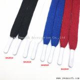 El algodón de la cuerda plana cinta Cordón Shoelace cuerda calzado zapatillas