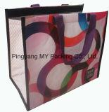 Сплетенный PP мешок охладителя слоения мешка OPP обеда пикника промотирования