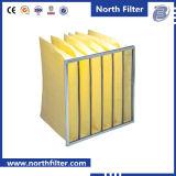 85% F7 нетканого материала ткань карман производство воздушного фильтра