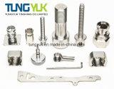 Usinage de précision CNC de haute précision de pièces pour le connecteur et la fixation