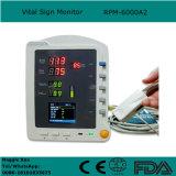 De handbediende Monitor van Levensteken NIBP die SpO2 Geduldige Monitor voor voor Volwassen Pediatrisch en Bij pasgeborenen in Klinieken ziekenhuis-Candice controleren