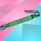 Imbracature di sollevamento piane resistenti della tessitura del poliestere dell'occhio dell'occhio