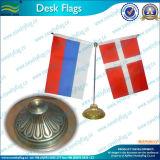 Drapeau de bureau classique/ Retro drapeau de table avec le métal de base (T-NF09M05006)