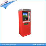 Quiosque ao ar livre do pagamento do lote de estacionamento com distribuidor de dinheiro