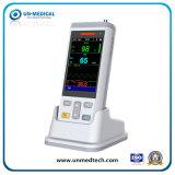Uso de animais / veterinários Oxímetro de pulso portátil portátil com funções Temp + SpO2