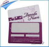 2017 L'impression offset CMJN Carte PVC proximité avec la signature de bord