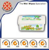 Toalhetes molhados de fibra de bambu com fibra de banho Wetes Wetes naturais