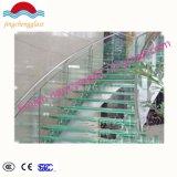 Haute qualité à faible-E double vitrage feuilleté trempé clair Low-E en verre teinté