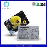 Cr80 Prepago estándar cero tarjeta telefónica con 350 g de papel