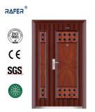 アフリカの安い母息子の鋼鉄ドア(RA-S170)
