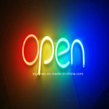 Segno al neon aperto-chiuso d'attaccatura della scheda del segno del portello del LED
