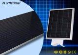 Solarstraßenlaterne-integrierte Garten-Lampe des garten-12W des Licht-LED