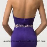 Reizvolle Hüllen-Nixe-purpurrote Abschlussball-Kleider