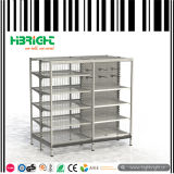 スーパーマーケットの家具のゴンドラの表示鋼鉄棚