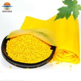 El 25% de aditivo de color amarillo Cotent Masterbatch