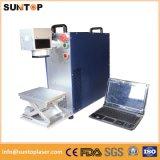 ポリプロピレンのプラスチックレーザープリンターによる印刷機械またはレーザーデータマトリックスのマーキング
