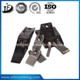Dents chaudes de position de pièce forgéee de fonderie en acier de forge pour l'excavatrice