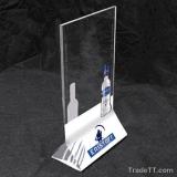 Freie stehende Acrylmenü-Bildschirmanzeige, Raum-Acrylmenü-Halter