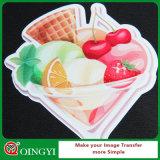 Vinyle imprimable de transfert thermique de couleur foncée de beauté de Qingyi