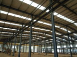 Mejor diseño y de bajo costo para la estructura de acero taller/almacén