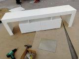 熱い販売の居間のための簡単な現代デザインMDF LED木TVの立場