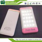 Chargeur solaire ultra mince de téléphone mobile de 5 couleurs