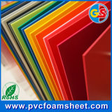 Placa de espuma de PVC colorido/folha Fabricante para impressão UV e assinar e o Hardware 1-40mm