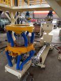 3つの層のABAの共押出し回転式ヘッドフィルムの吹く機械(プラスチック押出機)