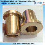 CNCアルミニウムまたは真鍮かステンレス鋼の金属の予備品を機械で造る精密