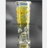 Tubulação de fumo de vidro de 17.32 polegadas para a recuperação do petróleo do filtro